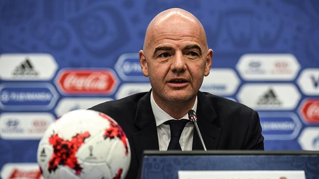 Infantino se stal prezidentem FIFA v únoru letošího roku