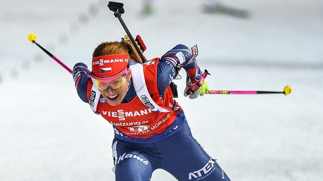 Gabriela Koukalová vyhrála 14. závod SP v kariéře