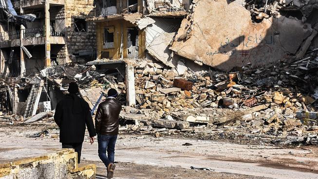Z měst zbyly jenom trosky, ale zdá se, že mezi povstalci a syrskou armádou konečně zavládne příměří