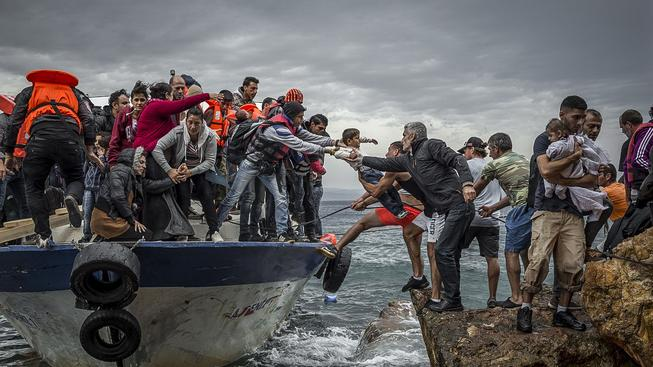 Stejně jako Itálie ani Řecko nezažívá teroristické útoky, přestože je jednou z prvních destinací uprchlíků