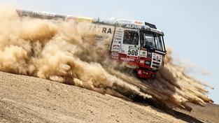 Archivní snímek Kolomého v Tatře na Rallye Dakar v roce 2015