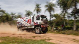 Martin Kolomý je v Rallye Dakar na průběžném druhém místě