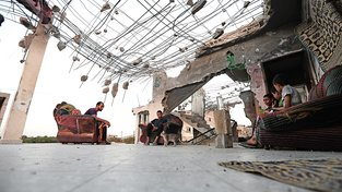 Tak vypadá život v Gaze. Domy poničené mnohaletým konfliktem není čím opravit