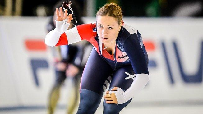 Karolína Erbanová je v polovině sprinterského víceboje na prvním místě