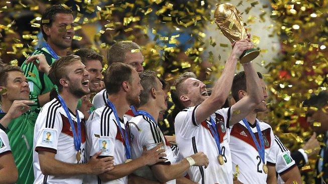 Poslední šampionát v roce 2014 vyhráli Němci