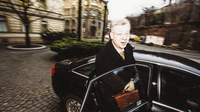 Jaroslav Bureš. Archivní snímek z roku 2003