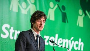 Předseda zelených Matěj Stropnický
