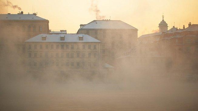 Smogem se v posledních několika dnech dusila prakticky celá republika. Ilustrační snímek