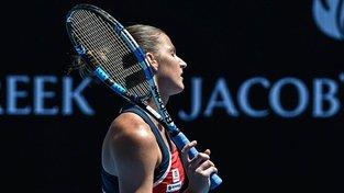 Karolína Plíšková vypadala na Australian Open ve čtvrtfinále