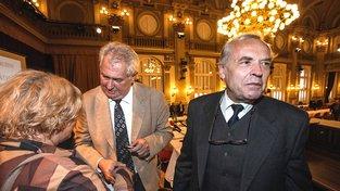 Sdružení přátelé Miloše Zemana: Sám mistr Miloš Zeman a Karel Srp
