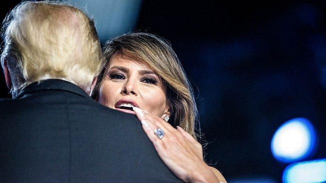 Americká první dáma v objetí svého muže