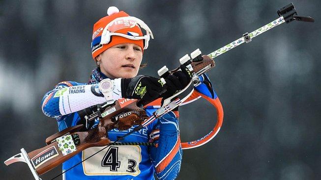 Veronika Vítková podala v závodě smíšených dvojic skvělý výkon, který ale nakonec k zisku evropského titulu nestačil