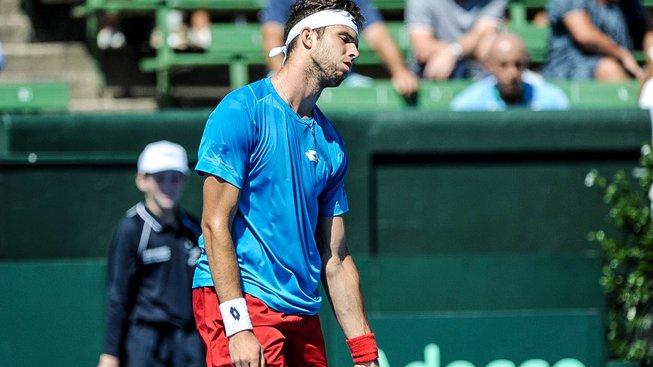 Veselému se na Davis Cupech nedaří