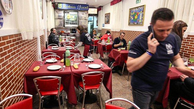 Restaurace pro bezdomovce Robit Food