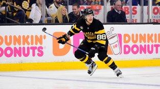 David Patrňák se dvěma góly podílel na výhře Bruins nad San Jose