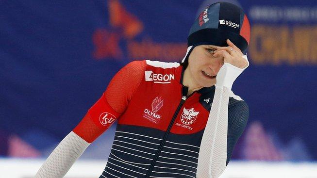 Česká rychlobruslařka Martina Sáblíková je podeváté mistryní světa na nejdelší trati