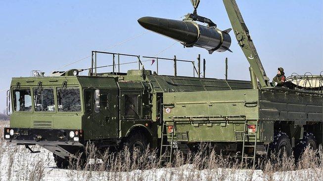 Odpalovací zařízení pro ruské rakety Iskander-M