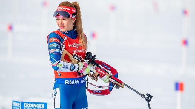 Gabriela Koukalová získala na MS stříbrnou medaili ve vytrvalostním závodě