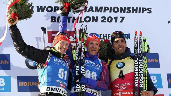 Na stupně vítězů vystoupal kromě Moravce a Baileyho také bronzový Martin Fourcad