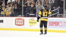 Crosby má tisící bod v NHL, zvládl to rychleji než Jágr. Gudasův gól na výhru Philadelphie nestačil