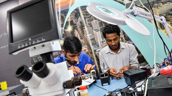 Indická ekonomika brzy předstihne americkou. Ilustrační snímek