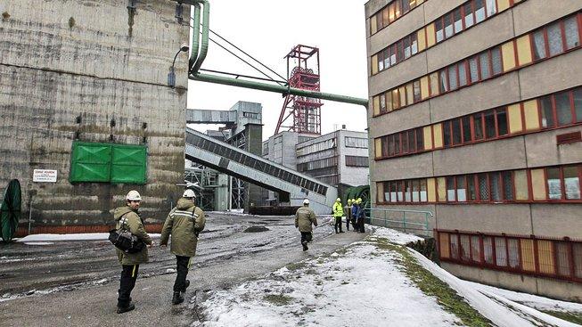 Úpravna uhlí Darkov. Ilustrační snímek