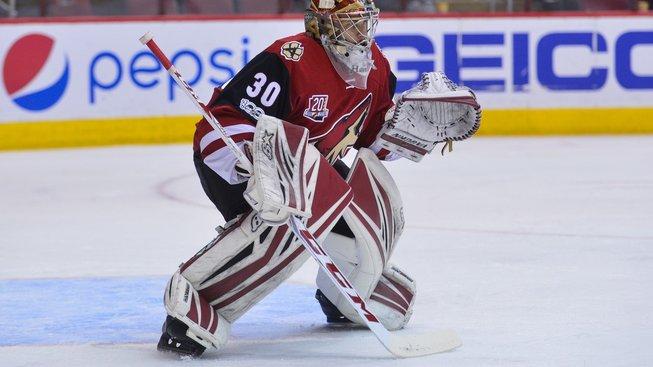 Marek Langhamer vítězně debutoval v NHL