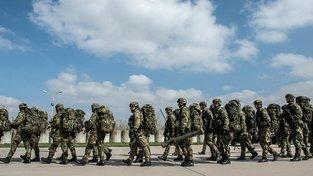 Čeští vojáci. Ilustrační snímek