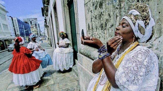 V ulicích brazilského města Salvador. Ilustrační snímek