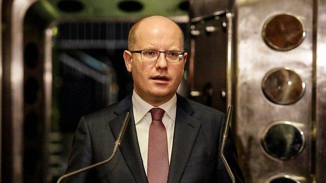 Premiér Bohuslav Sobotka se počínaje dneškem stal i ministrem průmyslu a obchodu