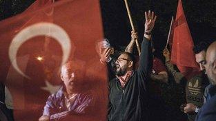Demonstrace německých Turků