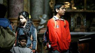 Romská pouť. Ilustrační snímek