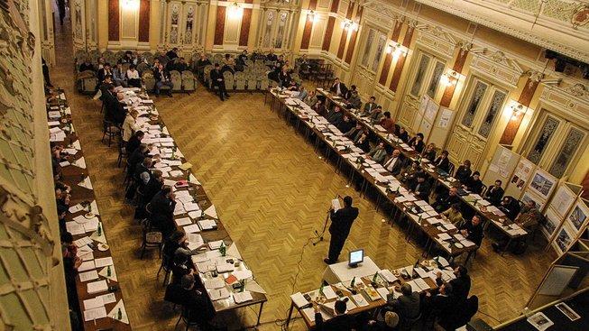 Zasedání prostějovského zastupitelstva. Ilustrační snímek