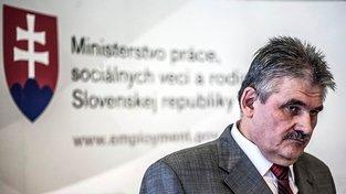 Slovenský ministr práce a sociálních věcí Ján Richter