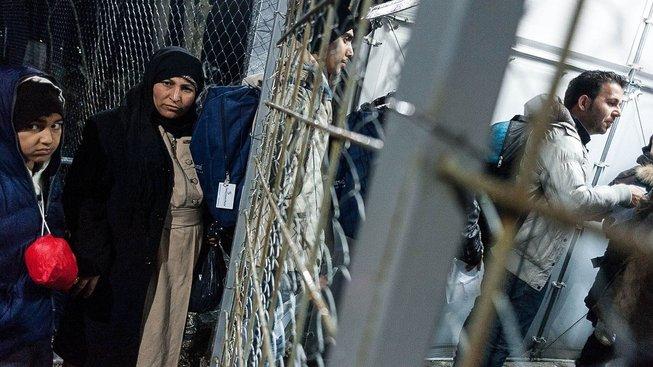Česká republika protizákonně zadržela kurdské uprchlíky mířících do Německa. Ilustrační snímek