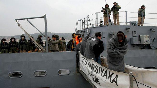 Turecko odmítá dál přijímat uprchlíky z Řecka