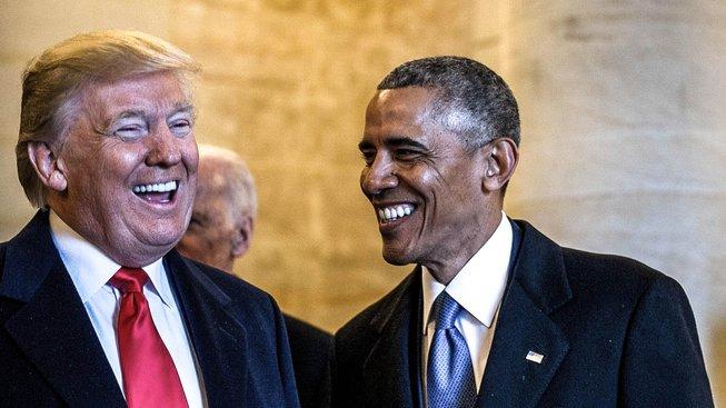 Donald Trump obvinil Baracka Obamu z toho, že nechal do jeho Trump Tower instalovat odposledchy