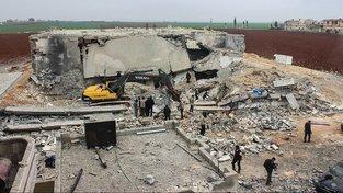 Americké bombardování mešity u Aleppa nepřežilo přes 40 lidí