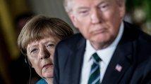 'Trumpasy a trumpoty' německé kancléřky v USA