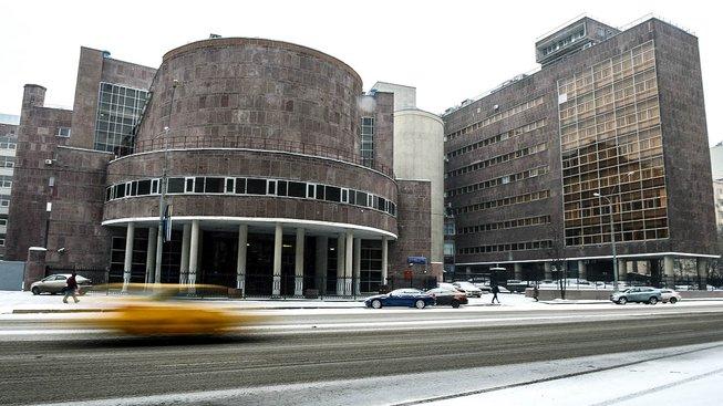 Budova Centrosojuzu od Le Corbusiera