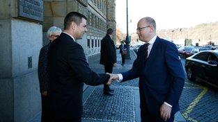 Premiér Bohuslav Sobotka navrhl do čela ministerstva průmyslu a obchodu Jiřího Havlíčka