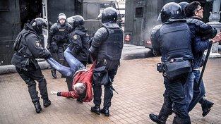 Běloruská policie zadržela o víkendu více než 400 protestujících