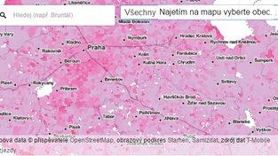 mapa z hlídacího