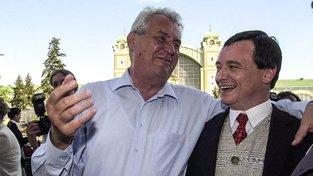Miloš Zeman a David Rath