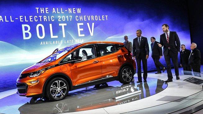 Chevrolet Bolt EV loni na North American International Auto Show