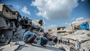 Šest let trvající válka v Sýrii vyhnala ze země více než 5 milionů obyvtel