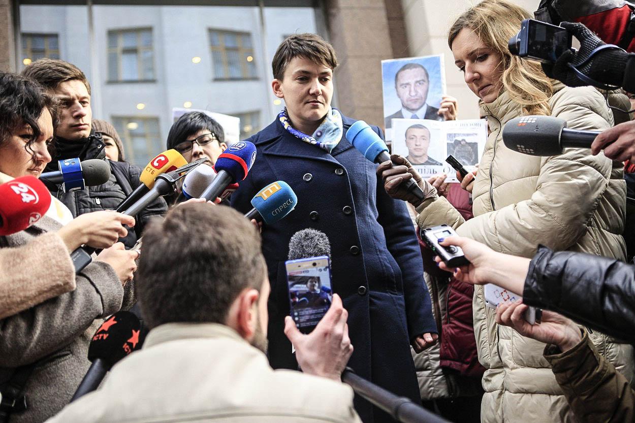 Komentář: Savčenková 'nemá ráda žiďáky'. Měla snad raději zůstat v ruském vězení?