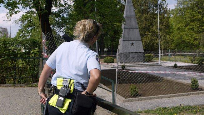 Ruská diplomacie si oficiálně stěžuje na poničení pomníku Rudé armádě v obci Malé Březno (Ilustrační snímek)