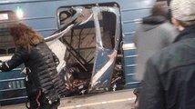 Atentát v petrohradském metru: Jedenáct mrtvých, desítky zraněných