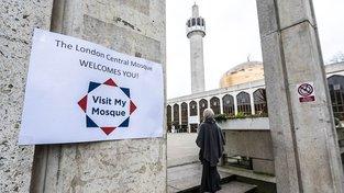 Centrální londýnská mešita, která se nachází poblíž Regent's Parku